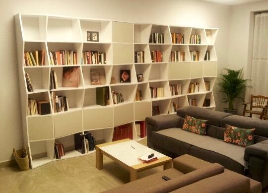 llibreria ELÈCTRIC imotiu per a sala d'estar