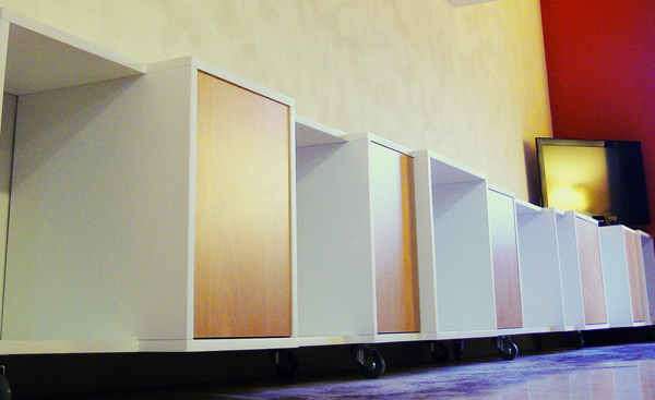 Mueble CUBS con puertas