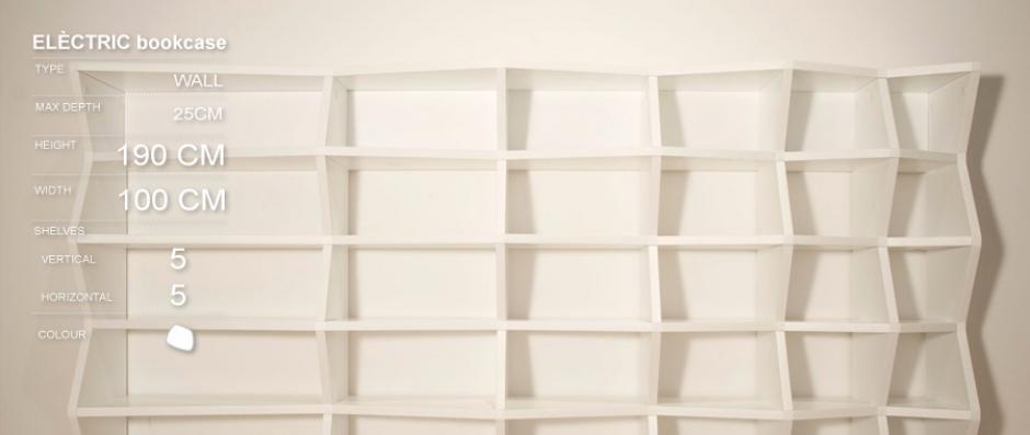 ELÈCTRIC custom design bookcase - Imotiu
